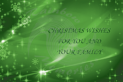 Christmas Wishes For You And Your Family