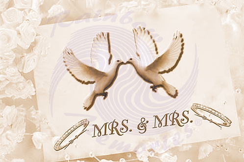 Mrs. & Mrs. - On Your Wedding Day