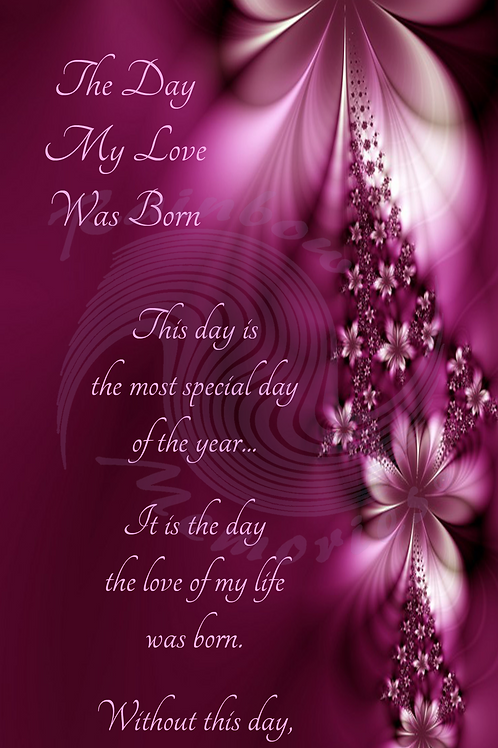 The Day My Love Was Born