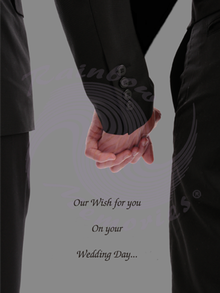 Our Wish For You On Your Wedding Day