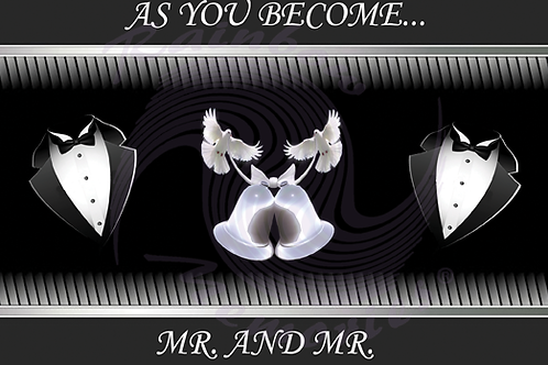 As You Become Mr. & Mr.  (II)