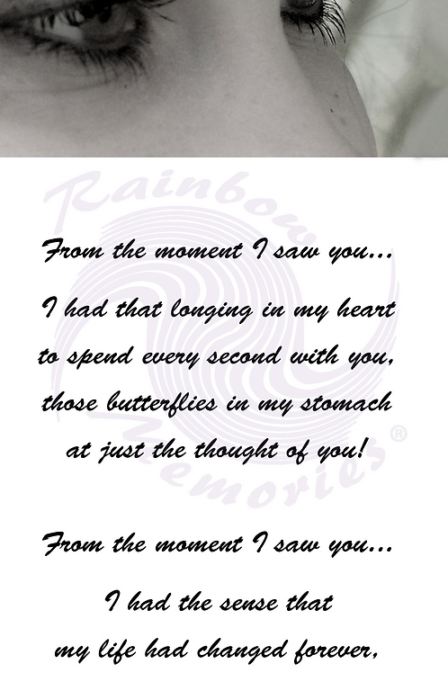 From The Moment I Saw You...