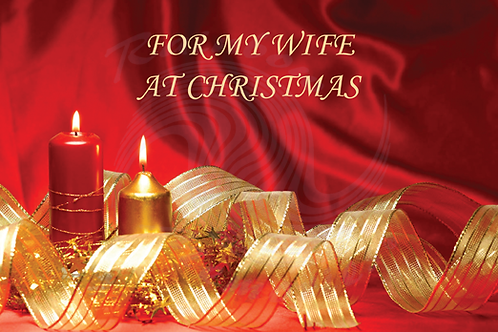 For My Wife At Christmas