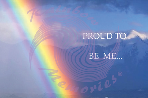 Proud To Be Me...