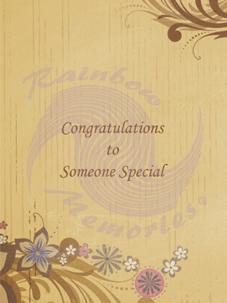 Congratulations To Someone Special