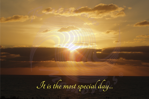 It Is The Most Special Day