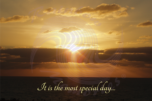 Husband - It Is The Most Special Day