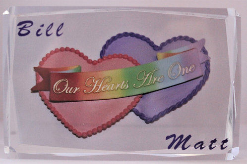 """""""Our Hearts Are One"""""""