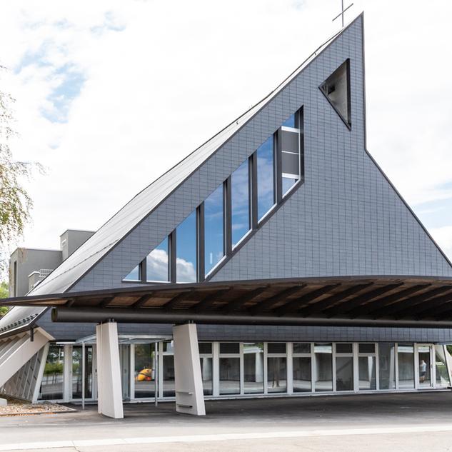 Schuler Gebäudehüllen AG, Kirche, Inwil
