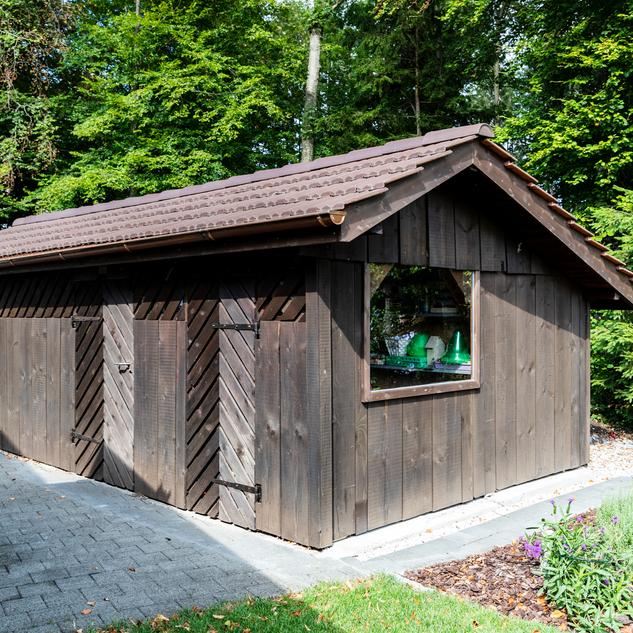 Schuler Gebäudehüllen AG, Gartenhaus, Cham