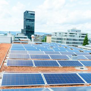 Schuler Gebäudehüllen AG, Photovoltaik, Zug