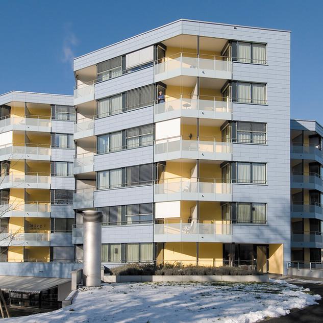 Schuler Gebäudehüllen AG, Alterswohnungen, Cham