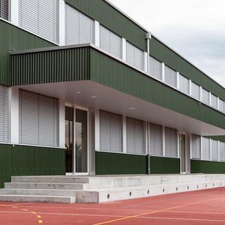 Schuler Gebäudehüllen AG, Schulhaus Röhrliberg, Cham