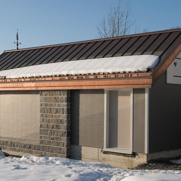 Schuler Gebäudehüllen AG, Bootshaus, Oberägeri
