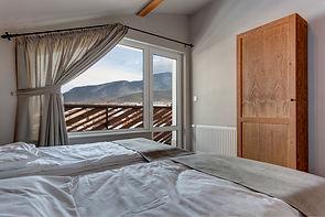 Top floor bedroom with view