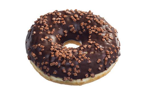 Donut z polewą czekoladową