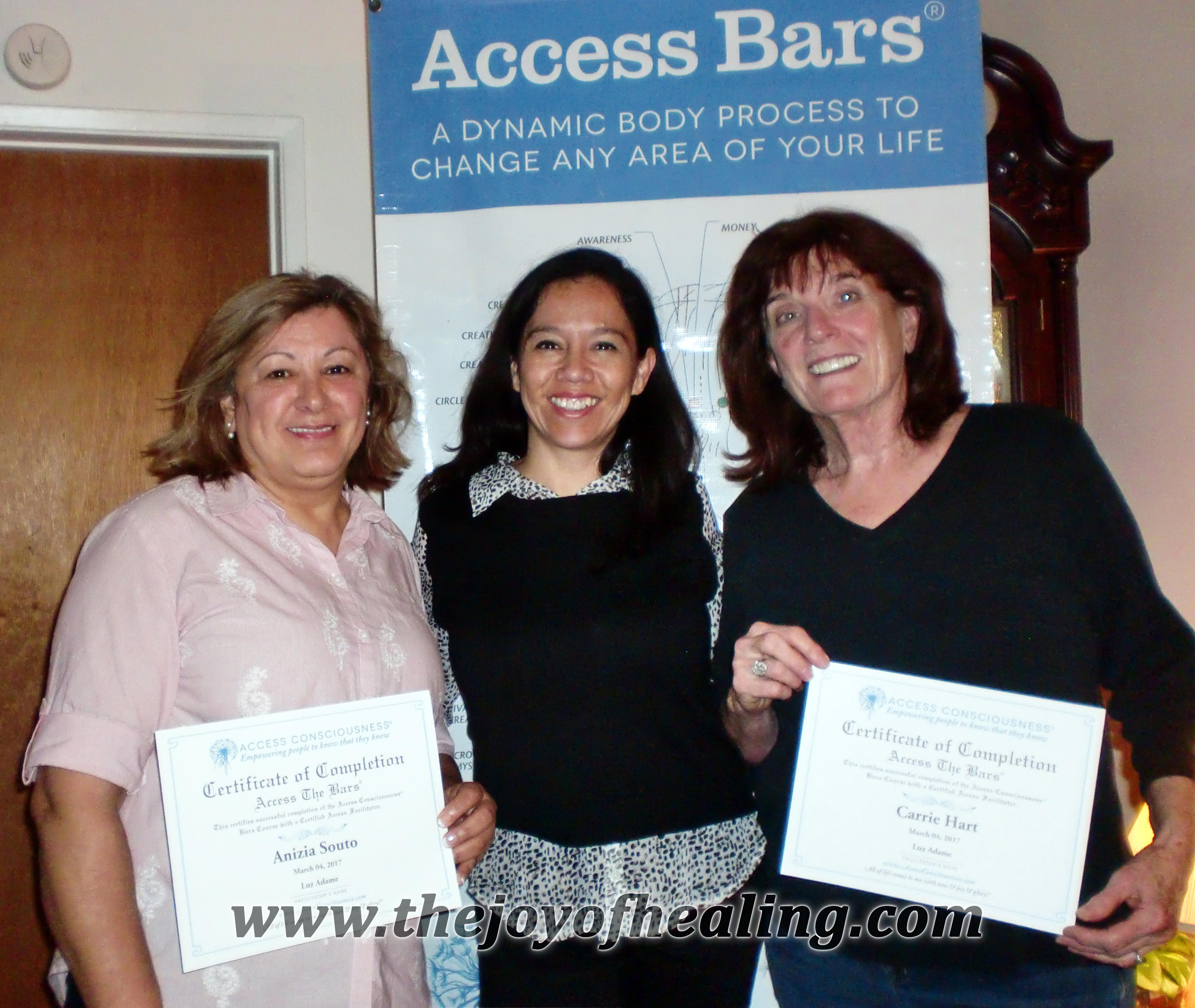 Luz Adame - Bars Class Certification