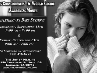 Access Consciousness & World Suicide Awareness Month