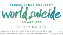 Access Consciousness® & World Suicide Awareness Month