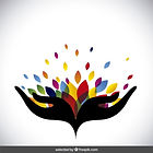 abstract-logo-with-colorful-leaves_1025-