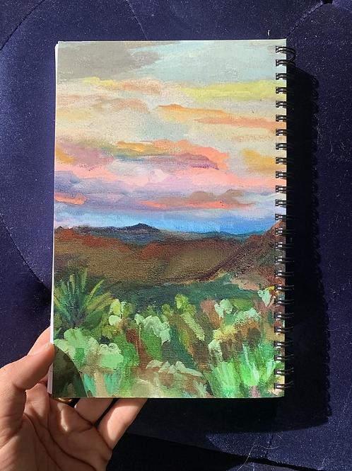 Joshua Tree notebook/ journal