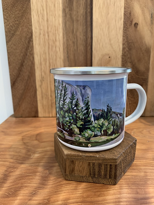 Camping mug El Captain, Yosemite