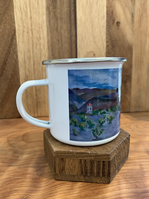 Camping mug scotty's castle death valley
