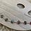 Thumbnail: Six Joshua tree glass and silver bracelet