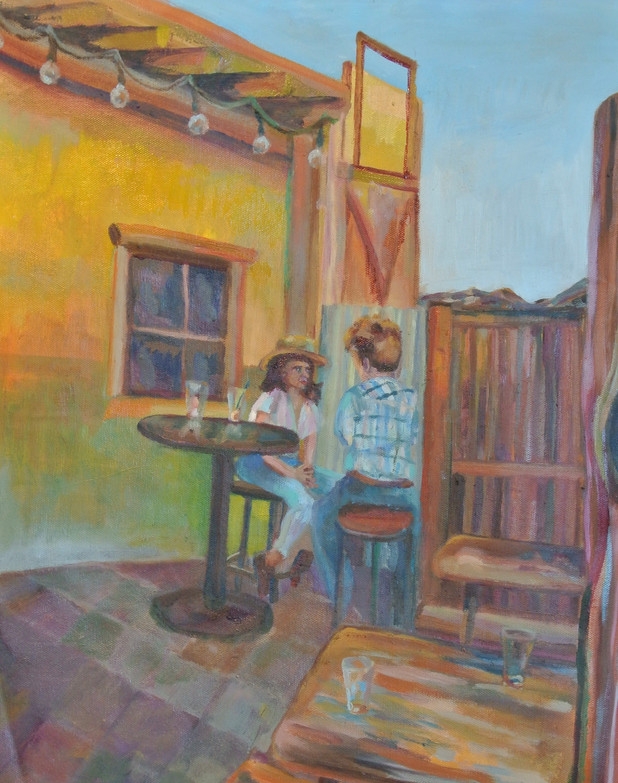 The First Encounter, Joshua Tree Saloon