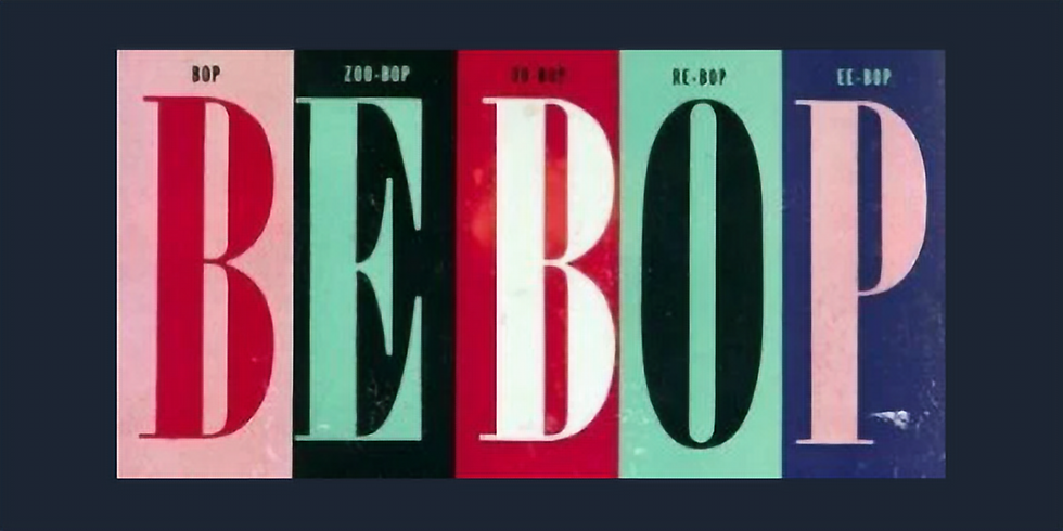 BUILDING LINES WITH THE BEBOP SCALE
