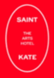 Saint Kate Red Logo