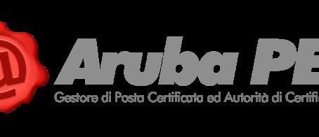 Nuova partnership con Aruba PEC