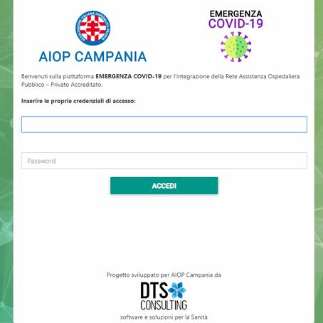 Piattaforma Emergenza Covid-19 per AIOP Campania ed Ospedali