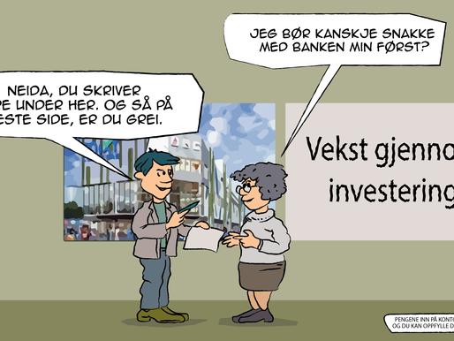 Lurte godtroende eldre til å investere i Haugen Senter på Tangvall
