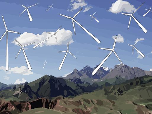 Vil LOs medlemmer godta en mangedobling av antallet vindkraftverk på land?