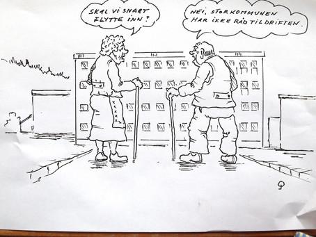 En eldreomsorg på sotteseng ?