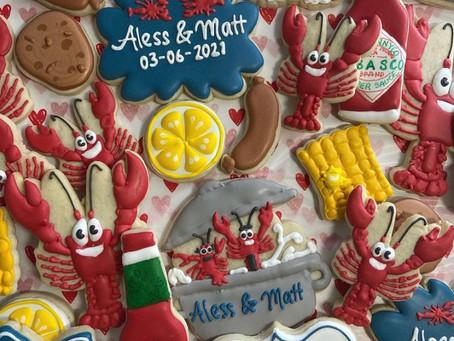 Sweet Treats & Artsy Eats: Cookies 2 Geaux