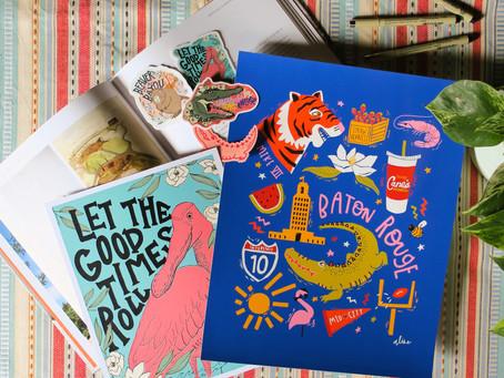 #LocalArtist: Aline Prints + Designs