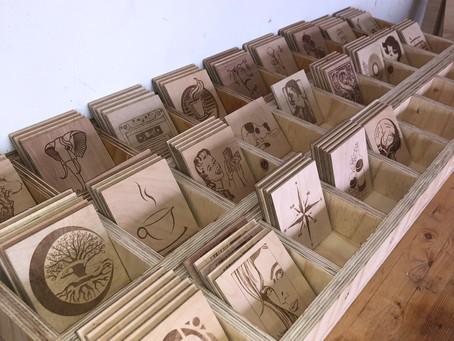 Custom Coasters with J2P Laser Designs!