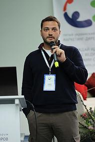Андрей Войнов выступает на форуме Маркетинг-директоров в Киеве