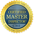Certified Master Inspector issued by the Master Inspector Certification Board, CMI