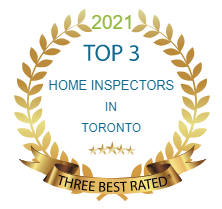 Three Best Rated Award Badge, Solex Group Professional Home Inspection awarded one of top 3 home inspectors in Toronto, 2016, 2017, 2018, 2019, 2020, 2021