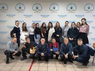 Участие в профориентационном научно-техническом квесте «Станция самоопределения»