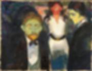 Zazdrość E. Munch 1907