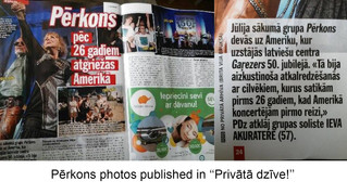 Pérkons: Pics Published in Latvia!