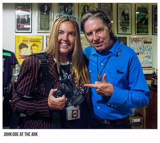 John Doe at the ARK