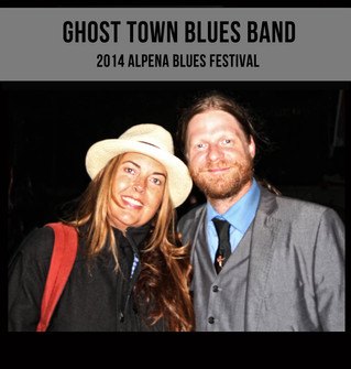 The Ghost Town Blues Band - Alpena Blues Festival