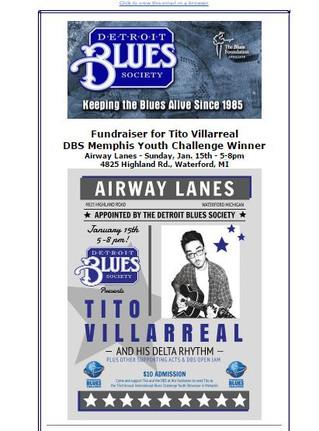 Detroit Blues Society Newsletter