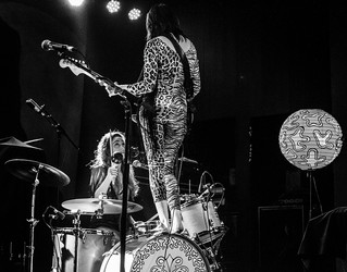 Deap Vally opening for Wolfmother
