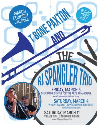 Flyer for RJ Spangler